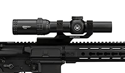 Bundle - Vortex Optics Strike Eagle 1-6 x 24 AR-BDC Reticle with Vortex Cantilever Ring Mount 2in Offset CM-202 by Vortex Optics