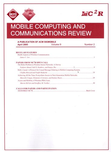 Mobile Computing and Communications Review 