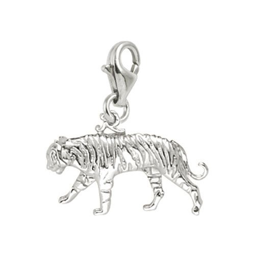 Tiger Charm with Lobster Clasp by Rembrandt Charms