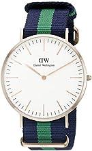 Comprar Daniel Wellington 0105DW - Reloj analógico de cuarzo para hombre con correa de nylon, color multicolor