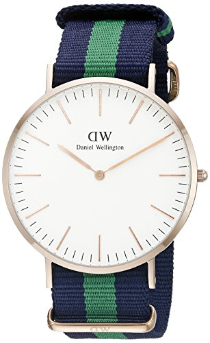 Daniel Wellington 0105DW Classic Warwick, orologio da polso, Uomo