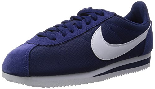 Nike Classic Cortez Nylon Loyal blu / bianco casual Calzature 6.5 Us