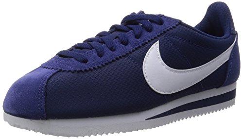 Nike Classic Cortez Nylon Loyal blu / bianco casual Calzature 6.5 Us
