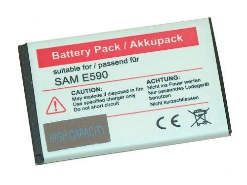 AKKU LI-ION passend für SAMSUNG GT-E2510, GT-E2550 Monte, GT-M3510 Beat, GT-S3550 Shark 3, GT-S5050 AllureS, GT-S5510, SGH-D610