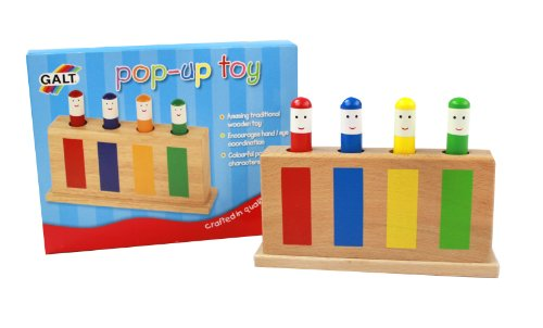 Galt Toys Wooden Retro Pop Up Toy