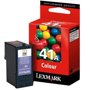 Lexmark International No 41a Tri Color Ink Cartridge Typical Print Yield 210 Page Inkjet