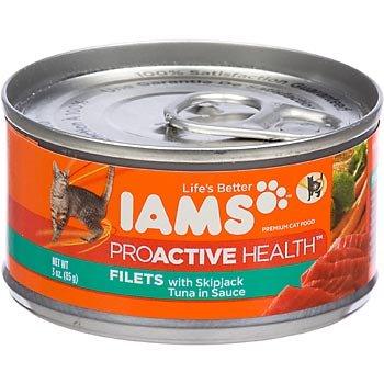 Iams Proactive Health Filets - Skipjack Tuna In Sauce - 24X3Oz