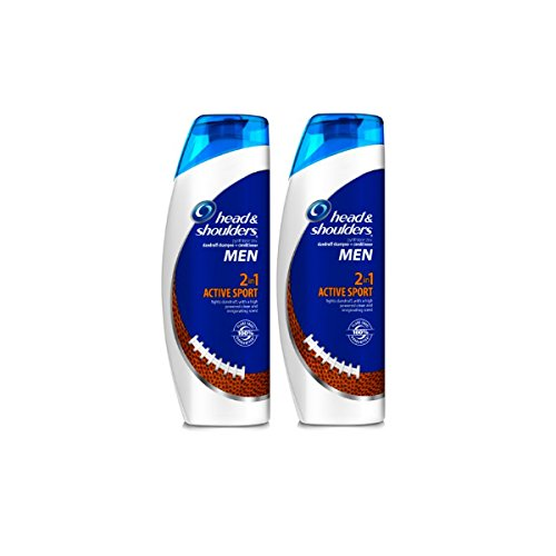Head and Shoulders Men Active Sport 2-in-1 Dandruff Shampoo + Conditioner 13.5 Fl Oz (Pack of 2) (Head And Shoulders Men compare prices)