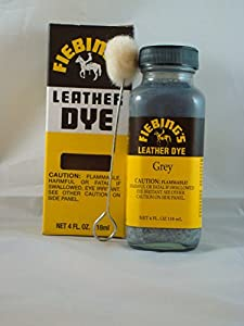 Fiebing's Leather Dye Grey by Fiebing's Company