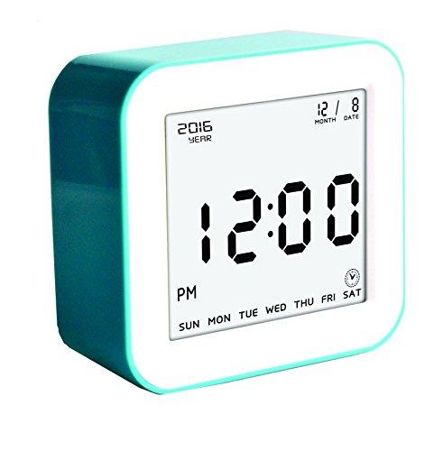 Digital Alarm Clock Battery Operated Great Bedside Alarm