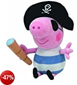 peluche Ty - Pirate George 16.cm Peppa Pig serie