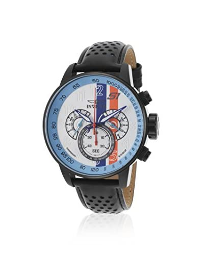 Invicta Men's 19290 S1 Rally Black/White Ion Plated Stainless Steel Watch