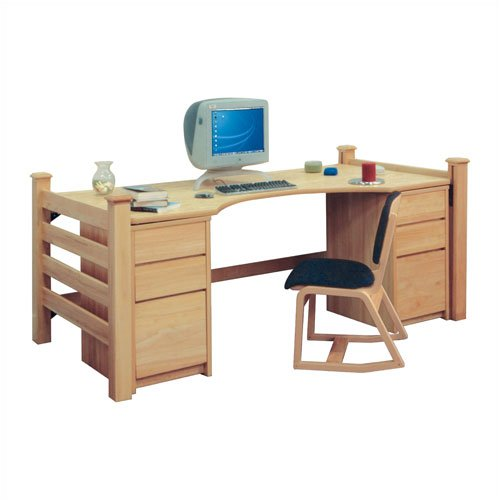"University Loft Graduate Series 38"" W Home Office Desk"