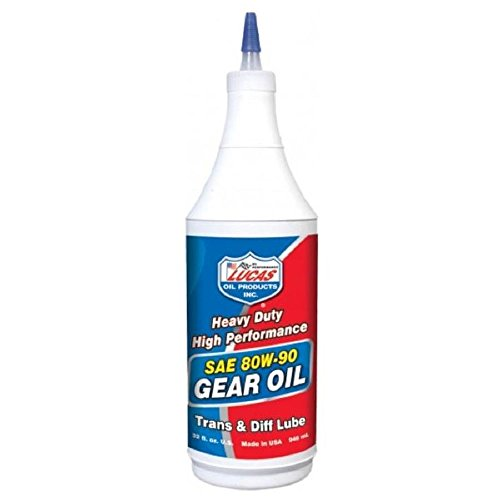 Lucas Oil 10043 SAE 80W-90 Heavy Duty Gear Oil - 1 Quart (Gear Oil 80 compare prices)