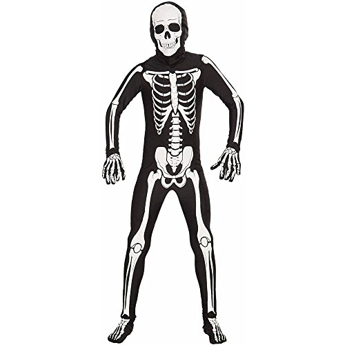 Skeleton Bone Skin Suit Kids Costume