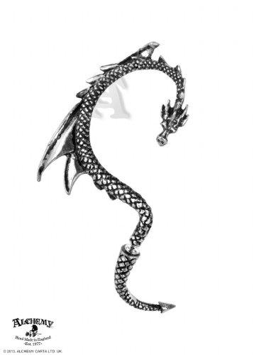 Alchemy Gothic (Metal-Wear) Richiamo Del Drago Orecchio Avvolgere