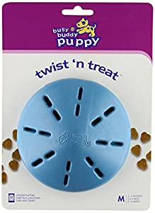 PetSafe Busy Buddy BB-P-TNT-M-11 Medium Puppy Twist'n Treat Dog Toy