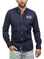 Signore Dei Mari Camisa Hombre Herry (Azul Marino)