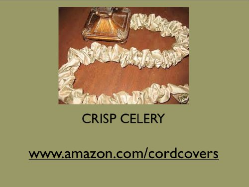 CRISP CELERY FAUX SILK 9' DECORATOR FABRIC ELECTRIC CORD COVER WITH FANCY TRIM - MADE IN THE USA BY PATRICIA'S ORIGINALS