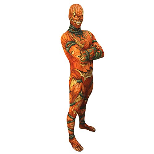 Morphsuits Men's Jack O Lanten Costume Pumpkin