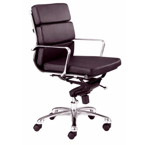 Zuo Modern Director Office Chair with Espresso Leatherette 205225