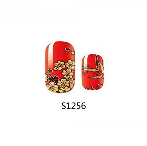 1-Pack-Pretty-Decoration-Full-Fashion-Self-Adhesive-Popular-Nail-Art-Stickers-Style-Code-S1256