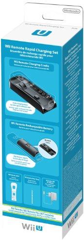 Ensemble de recharge rapide pour télécommande Wii/ Wii U/ Wii U Plus