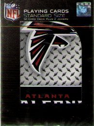 NFL Atlanta Falcons Plate Playing Cards