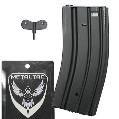 MetalTac M4/M16 300 Round Hi-Cap AEG Airsoft Magazine (M4 High Cap Magazine compare prices)