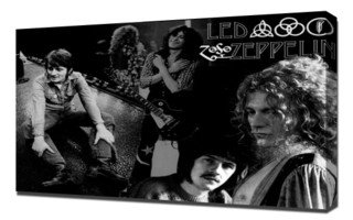 Led Zeppelin 4 - Canvas Art Print