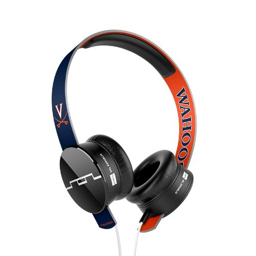 Sol Republic 1211-Uva Collegiate Series Tracks On-Ear Headphones With Three Button Remote And Microphone - University Of Virginia