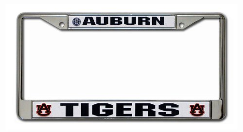 NCAA Auburn Tigers Chrome License Plate Frame at Amazon.com