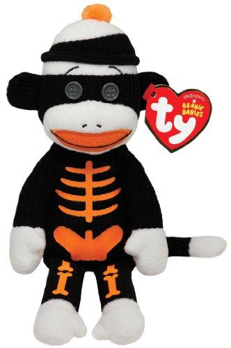 Imagen de Ty Beanie Babies Trucos - Esqueleto del mono del calcetín