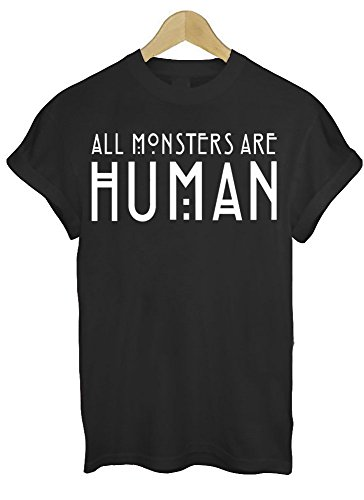 All Monsters are Human T Shirt Maglietta Top T Shirt American Horror Story