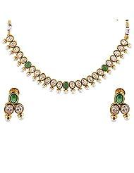 Bhagwathi Antique Necklace Set (BGPS0013) - B00V3E9NA0