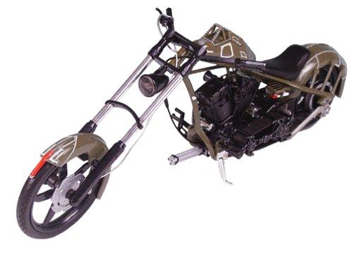 American Chopper: Comanche Bike - 1:10 Scale Die-Cast (Choppers Bikes compare prices)