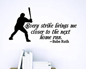 babe ruth the home run to success A babe ruth home run was an event unto  she claimed to have acquired the nickname babe (after babe ruth)  ruth had more success, and even hit home.