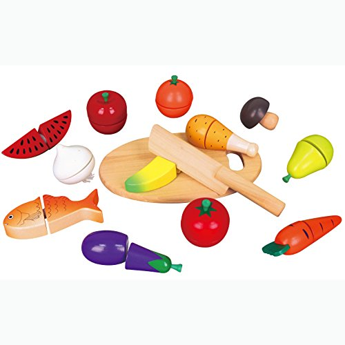 Wooden Cutting Food Set - Viga
