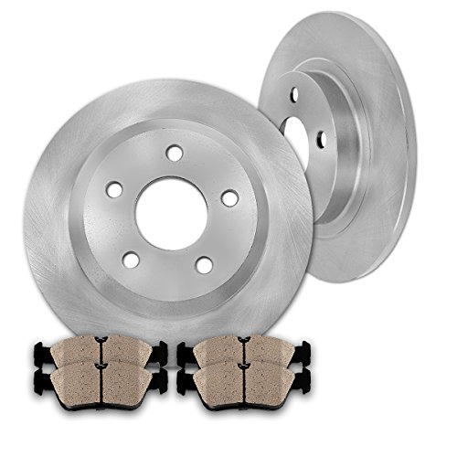 Front Rear Performance Rotors Ceramic Pad For 2006-2010 Chevrolet Impala 4 8