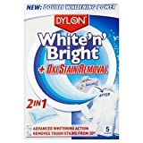 Dylon ultra whitener & oxi stain removal sachets 5