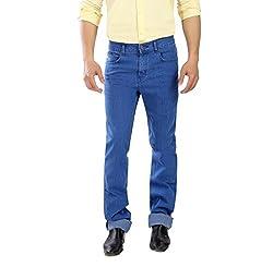 Scotlane Yarn Dyed Basic Blue Jeans