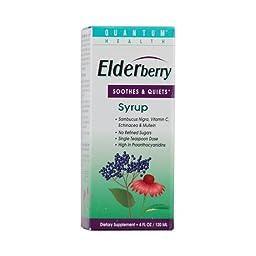 Quantum Elderberry Syrup - 4 Fl Oz