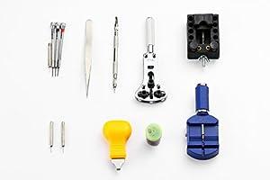 burei profesional 13piezas Reparación de relojes Kit de herramientas Watchband Enlace Pin Remover de BUREI