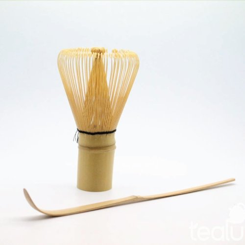 For Sale! Bamboo Matcha Whisk & Scoop Set