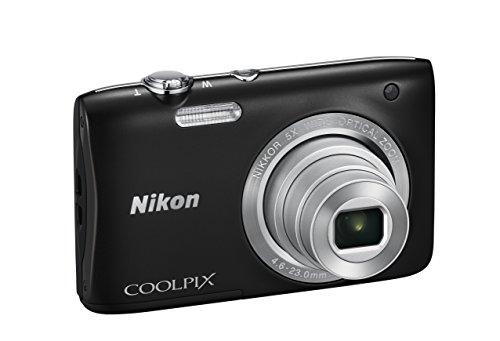 """Nikon Coolpix S2900 Fotocamera Digitale Compatta, 20,1 Megapixel, Zoom 5X, 3200 ISO, LCD 2,7"""", HD, colore: nero [Nital card: 4 anni di garanzia]"""
