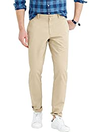 Barata Cream Chinos For Men Trouser Regular Fit , 100% Cotton Chinos Pants For Men