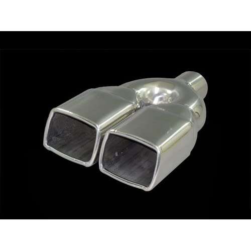 Stainless Steel Exhaust Tips / Tip Muffler 2 Pipe