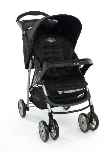 Graco Mirage Solo Stroller, Oxford (Black)