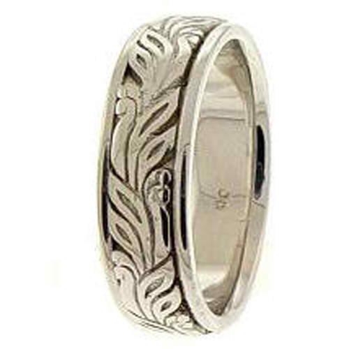 Irish Hand Wedding Bands - Size 12.5