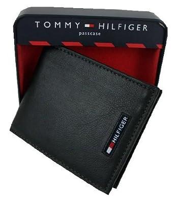 Tommy hilfiger portefeuille homme cuir noir en coffret - Portefeuille tommy hilfiger homme ...